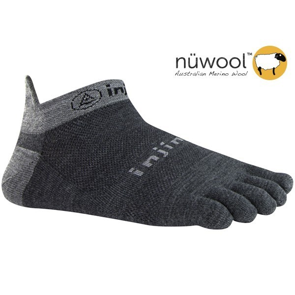INJINJI RUN 2.0 LIGHTWEIGHT NO-SHOW nuWool